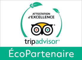 label d'excellence tripadvisor