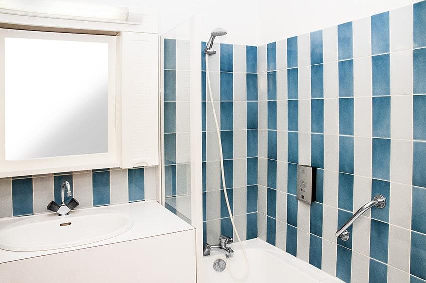 Salle de bain des chambres du Lion d'Argent