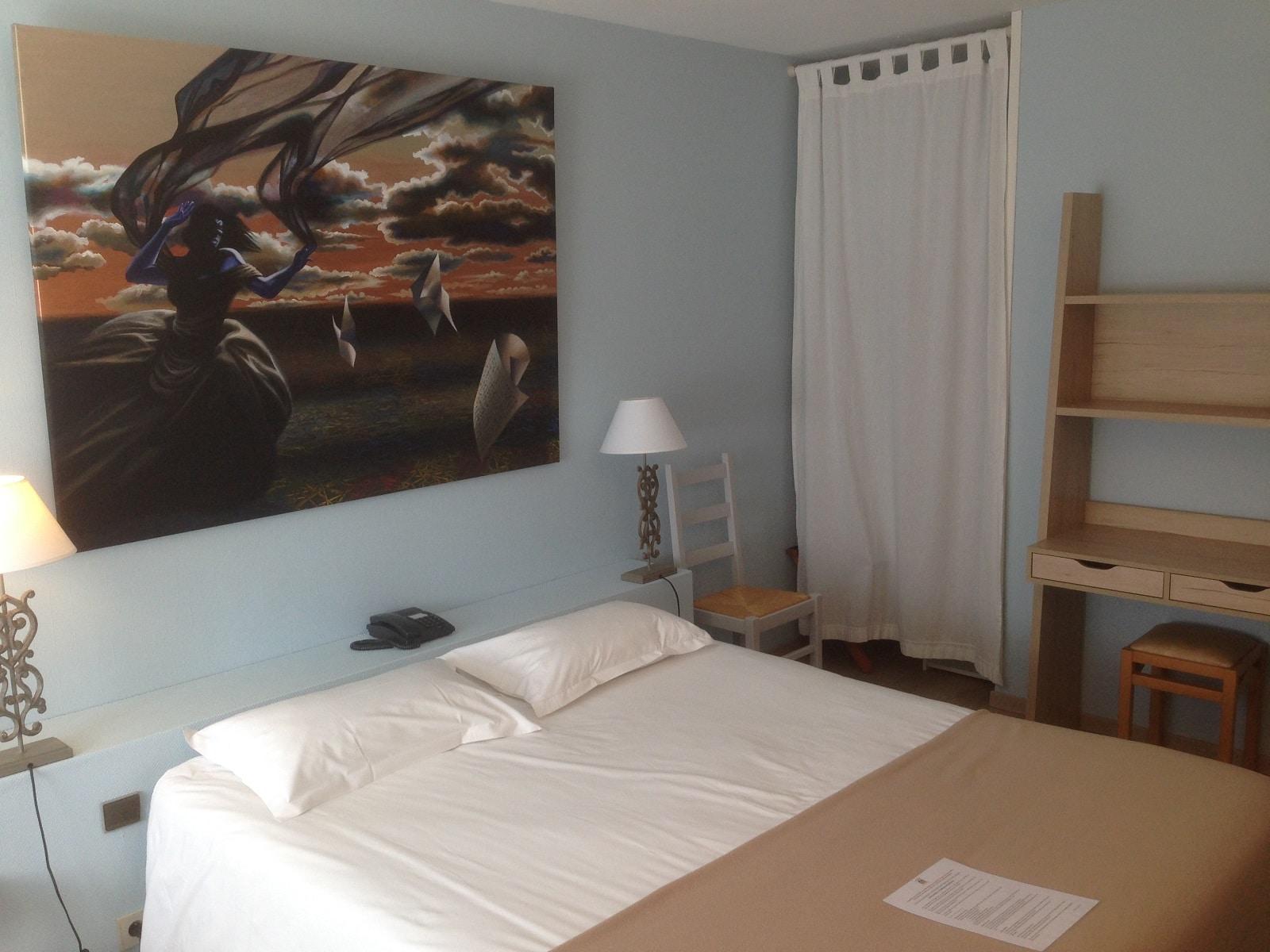 Chambres de l'hôtel du Lion d'Argent à La Châtre