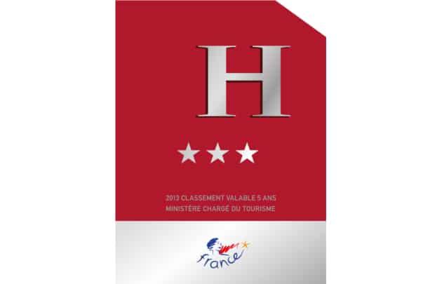 Panonceau-classement-hôtel-3-étoile