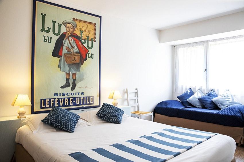 Chambres de l'hôtel du Lion d'Argent